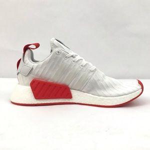 350b08dbf3531 adidas Shoes - Adidas NMD R2 Primeknit PK White Core Red BA7253